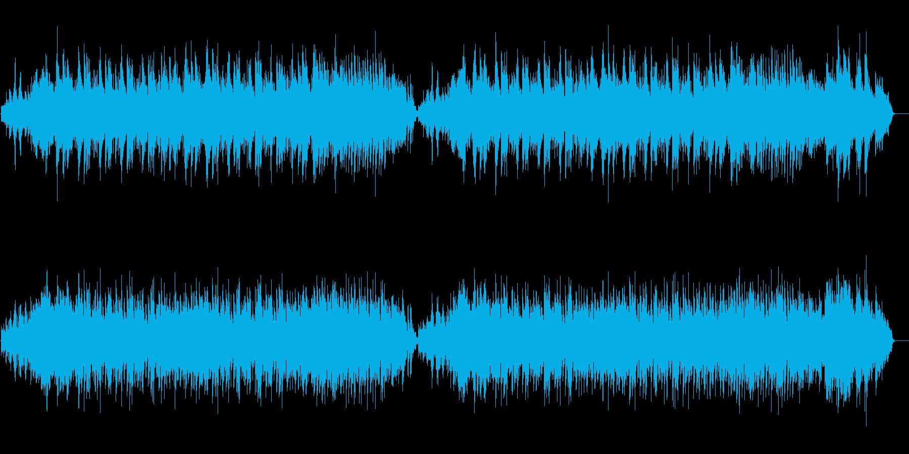 ニューエイジ系 自然の目覚めサウンドの再生済みの波形