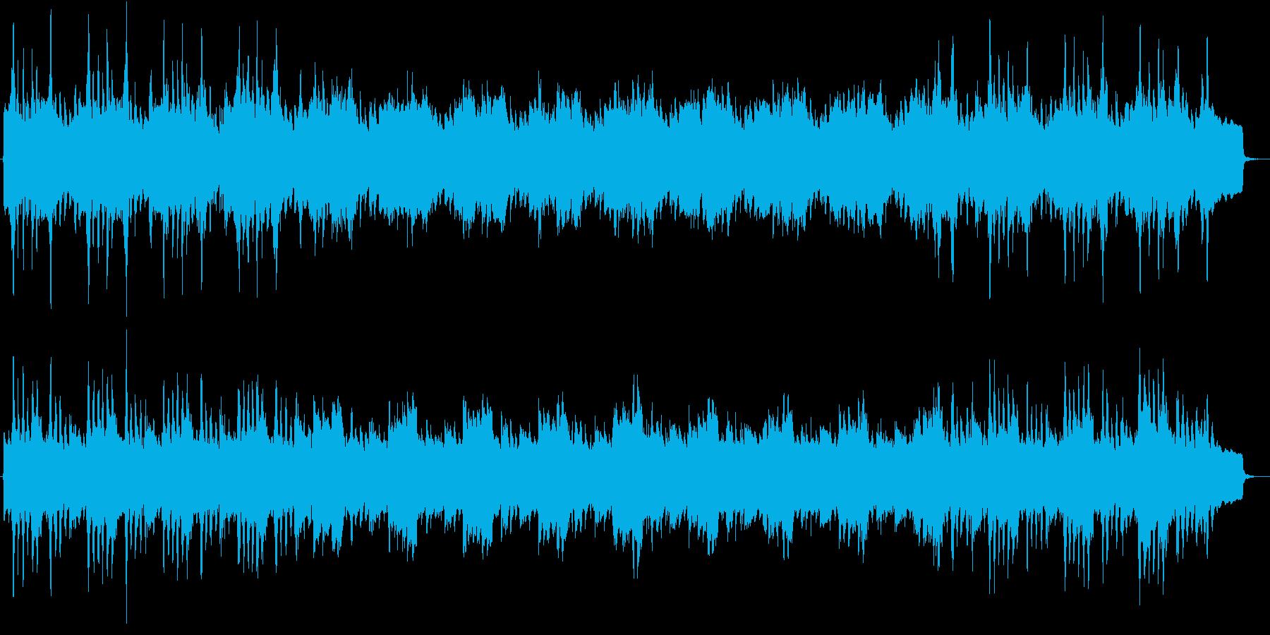 シンセベースが印象的なミニマル風ジングルの再生済みの波形