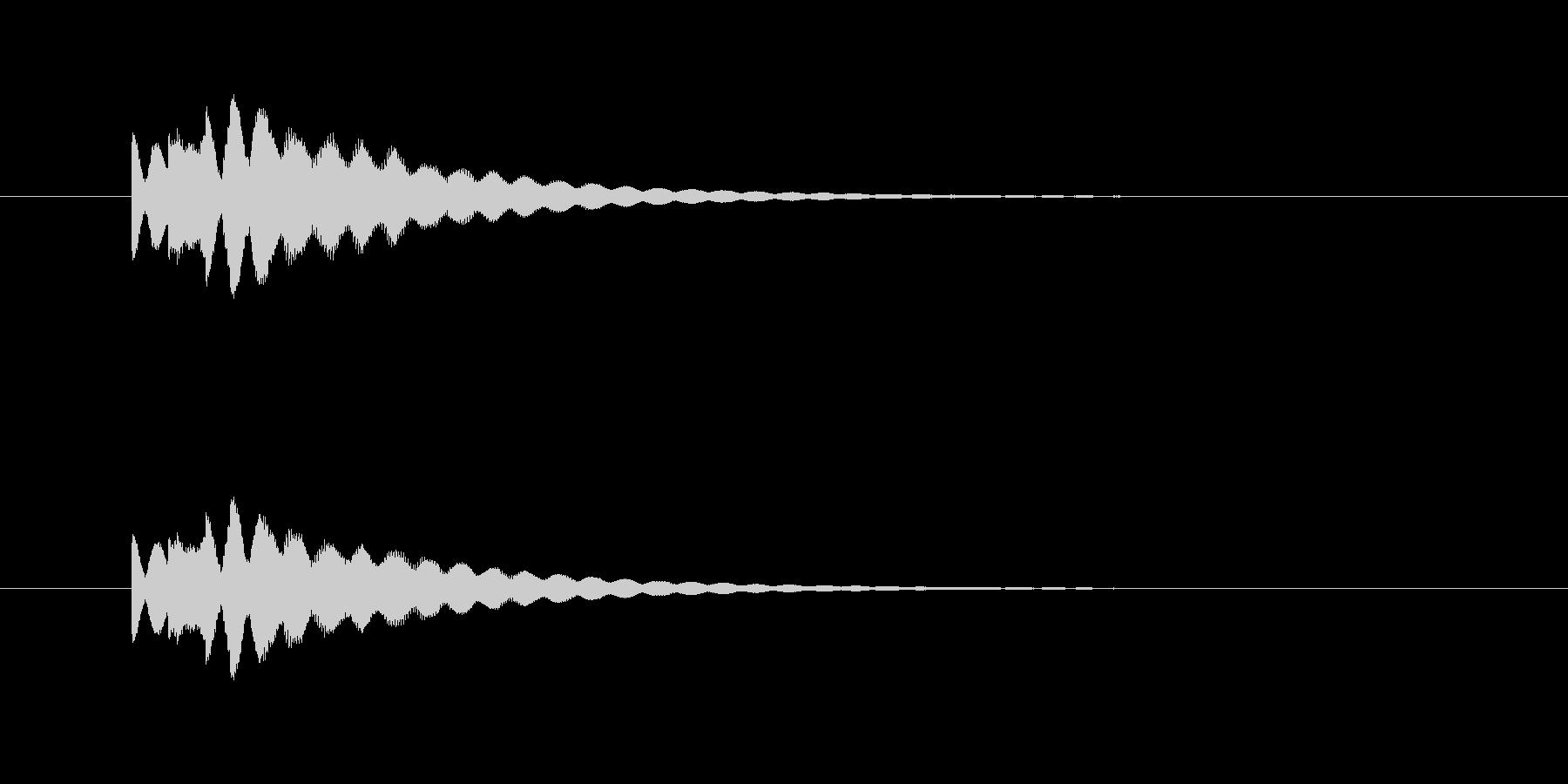 ピロピロン(透明感、爽やか)の未再生の波形