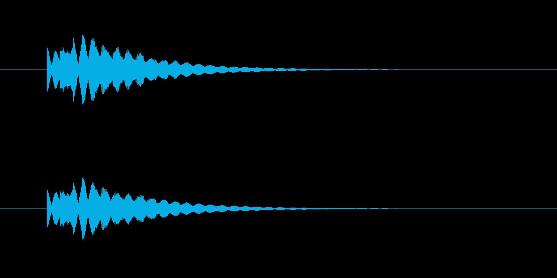 ピロピロン(透明感、爽やか)の再生済みの波形