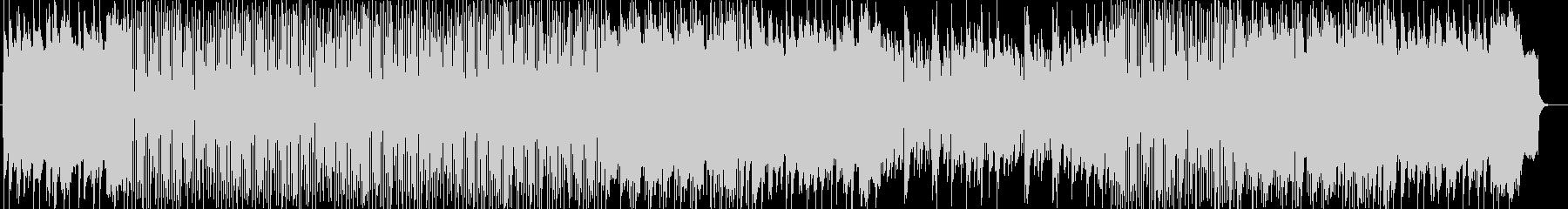 明るく爽快なシンセサイザーサウンドの未再生の波形