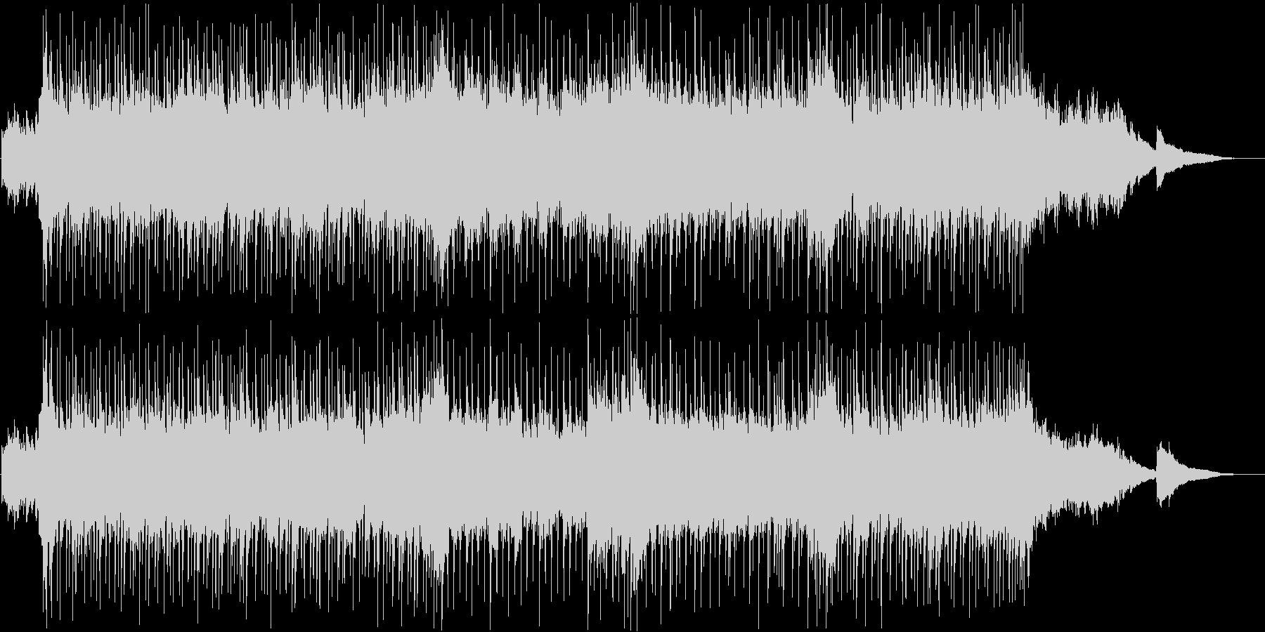 ギターとピアノをメインにした曲ですの未再生の波形