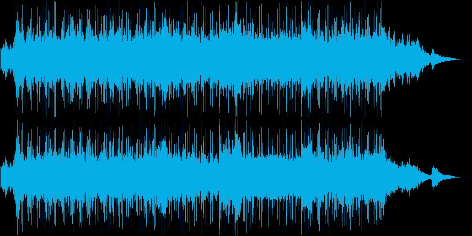 ギターとピアノをメインにした曲ですの再生済みの波形