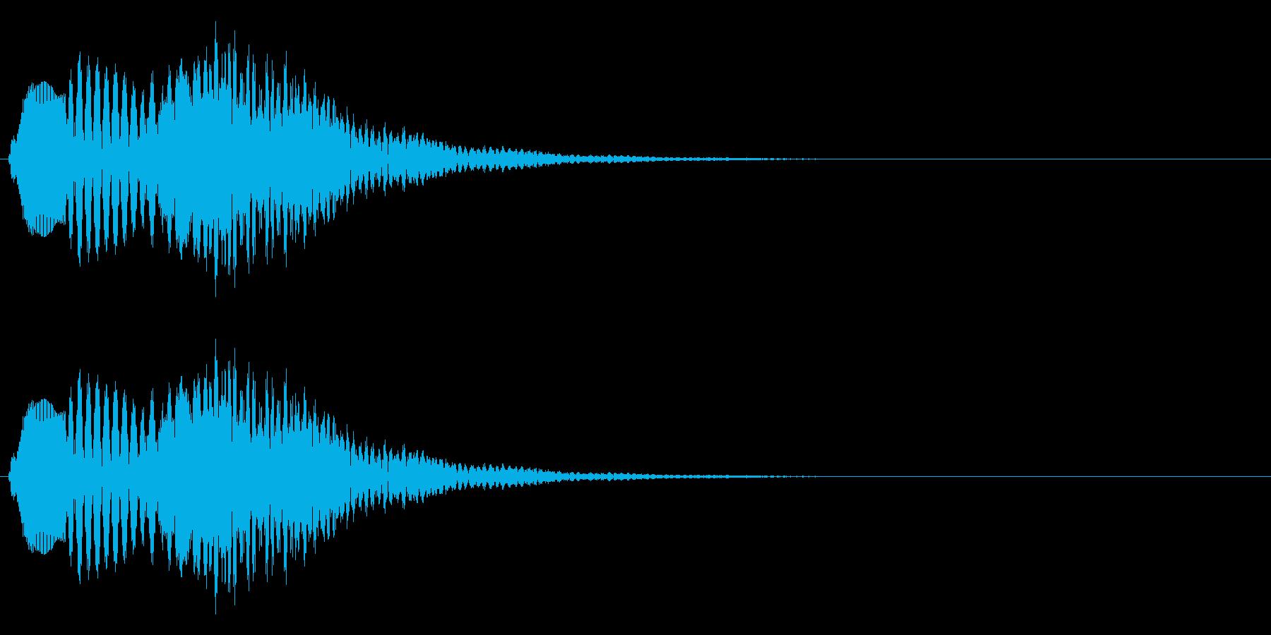 ポロポロンーの再生済みの波形