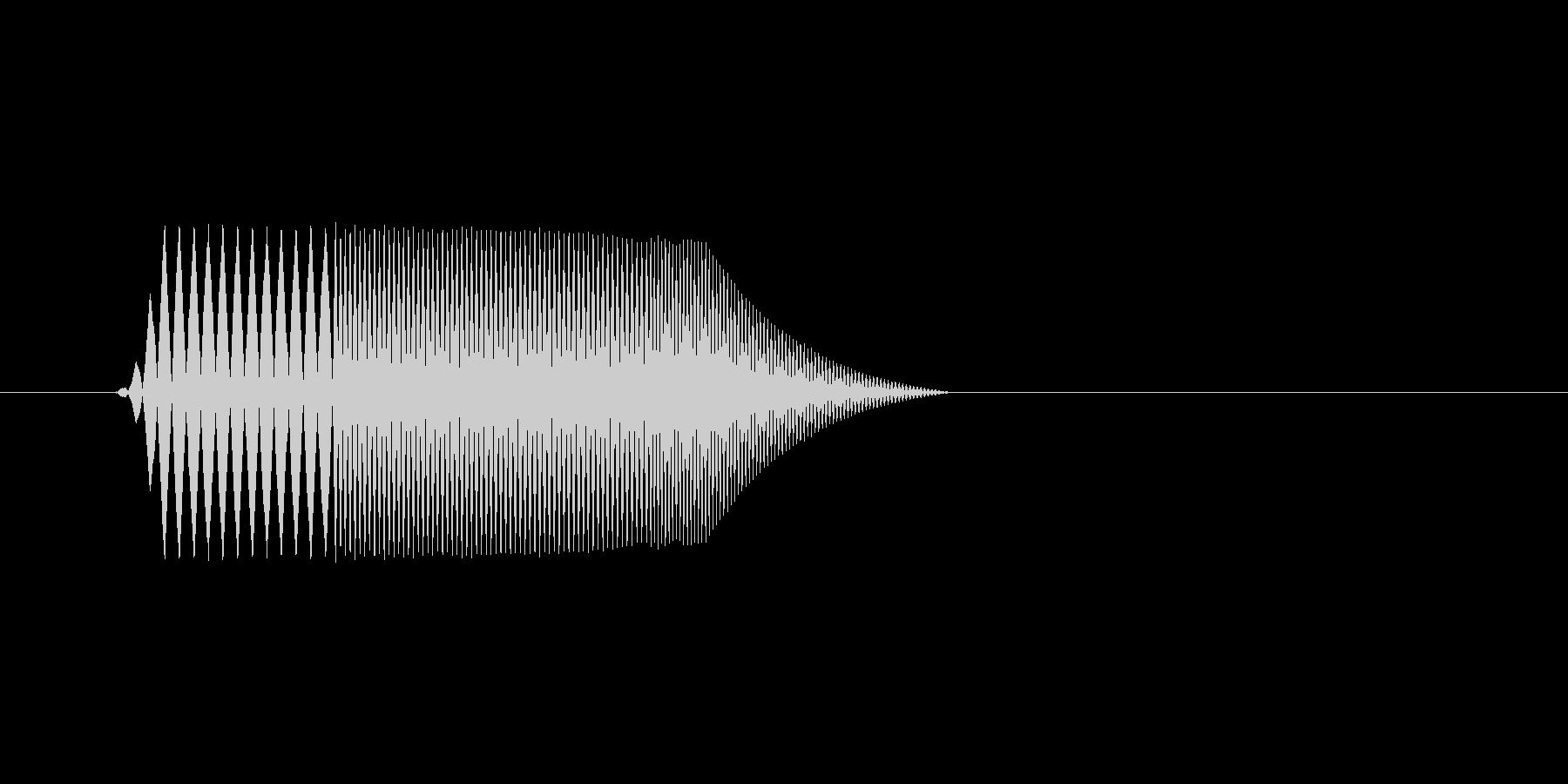 ファミコン風効果音決定音系です 08の未再生の波形