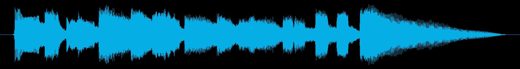 海外ドラマ風 エレキギター ポップの再生済みの波形