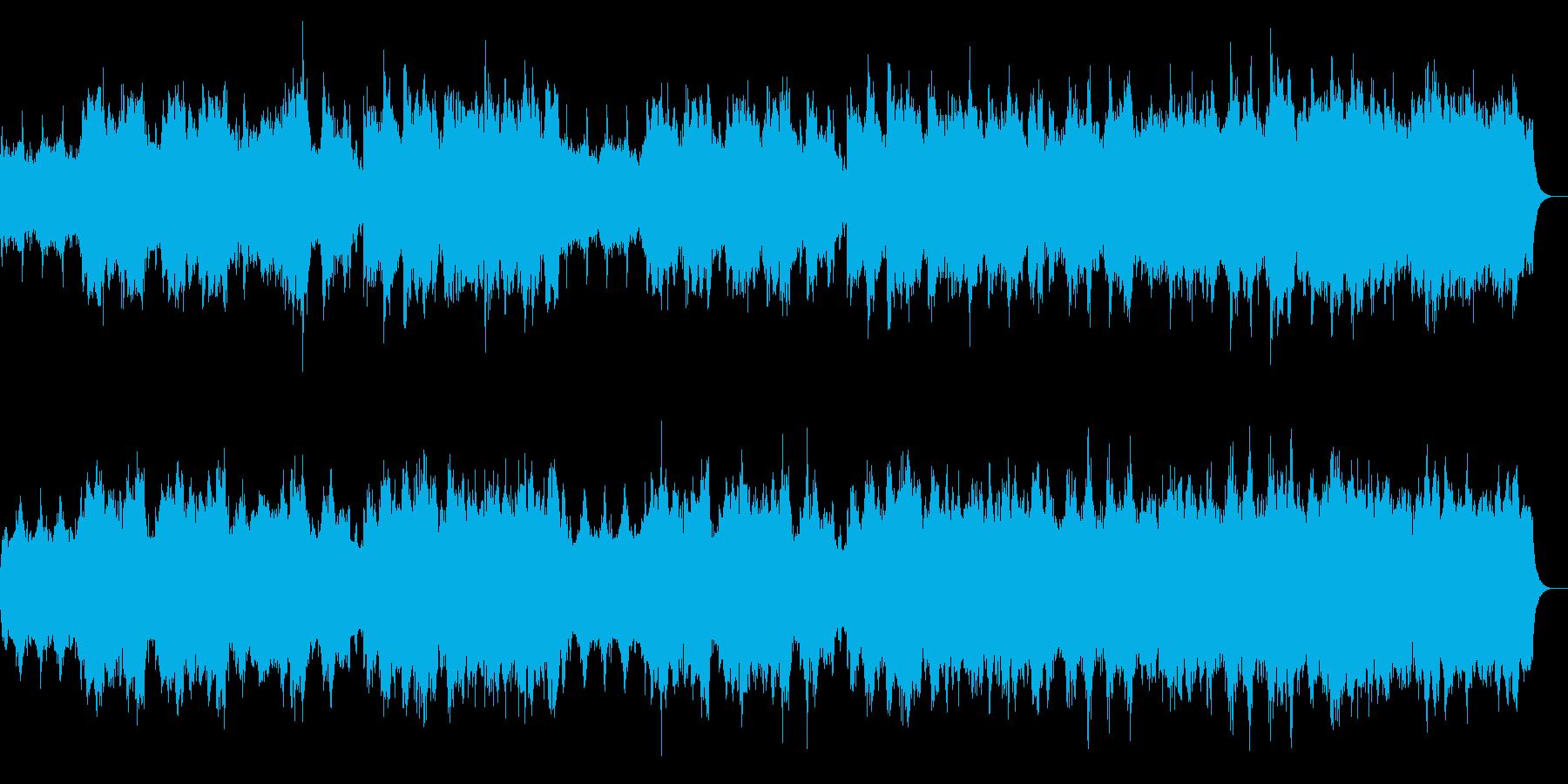ハロウィン系BGM 魔法の森 ロング版の再生済みの波形