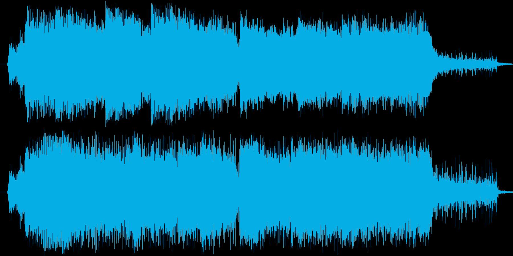 おめでとう!室内楽オケによる祝福の効果音の再生済みの波形