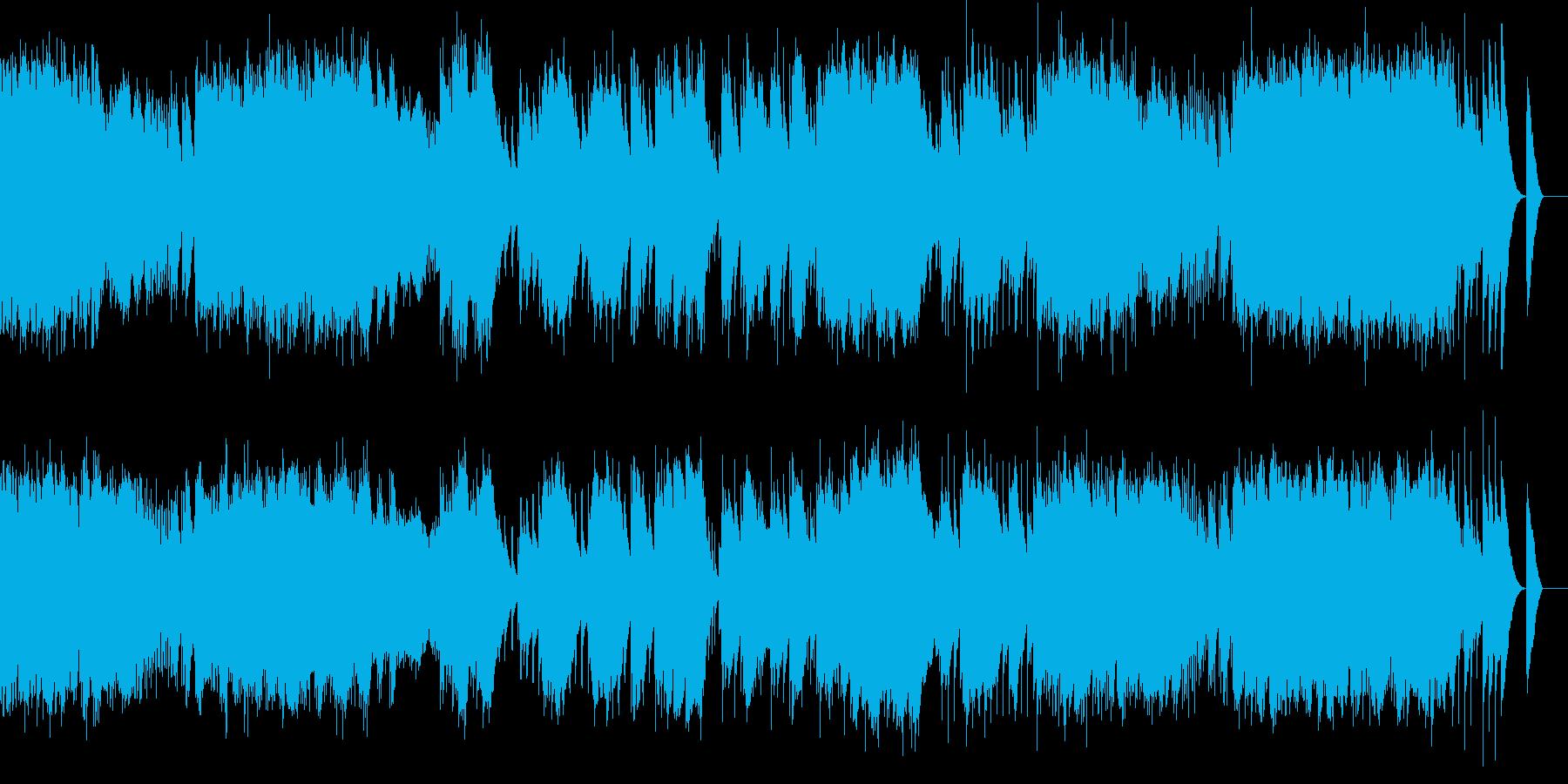 小組曲 2.行列(オルゴール)の再生済みの波形