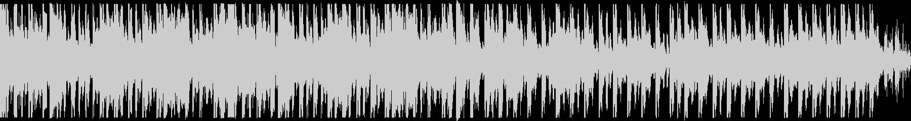 ループ、おしゃれ、ノリノリなBGMの未再生の波形