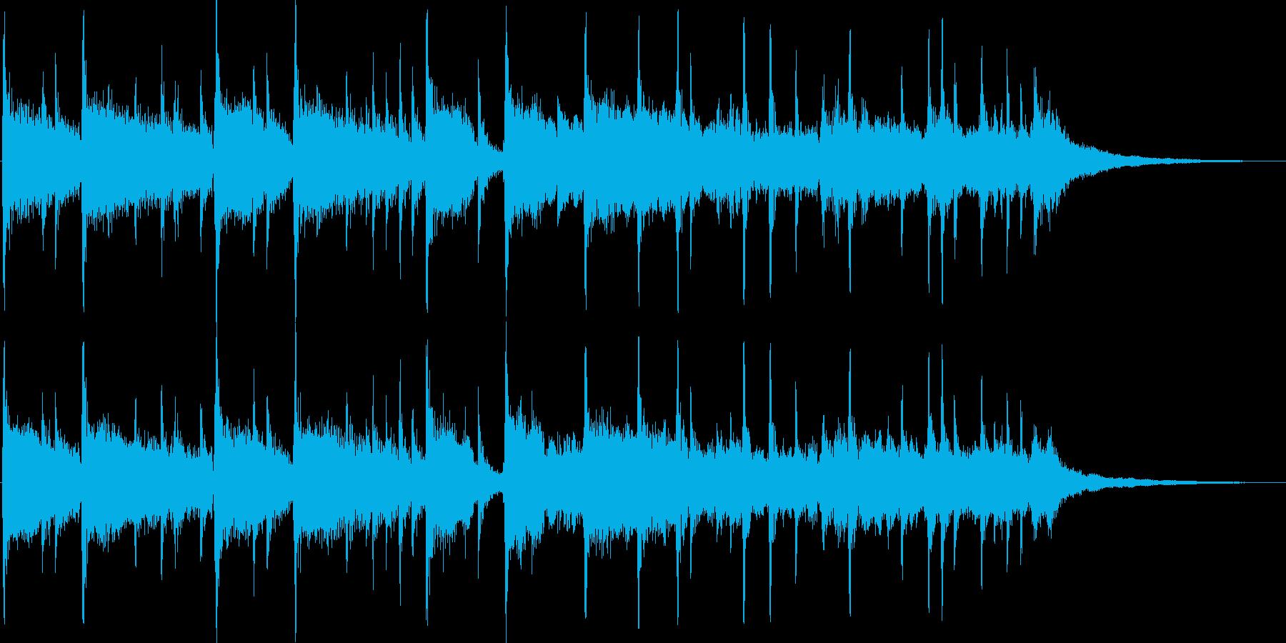 オープニングに最適なフュージョンジングルの再生済みの波形
