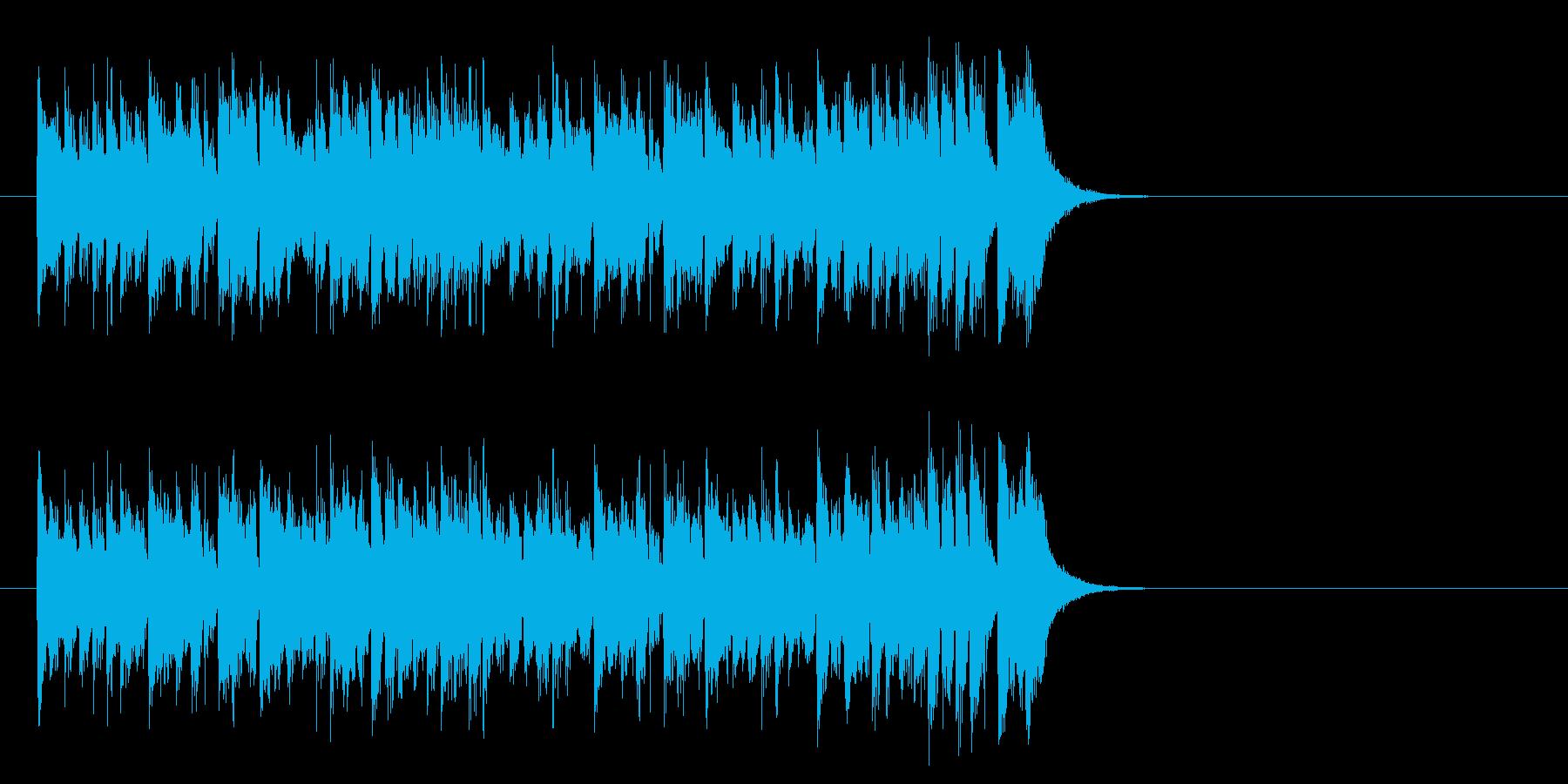 元気ハツラツOPポップス(サビ)の再生済みの波形