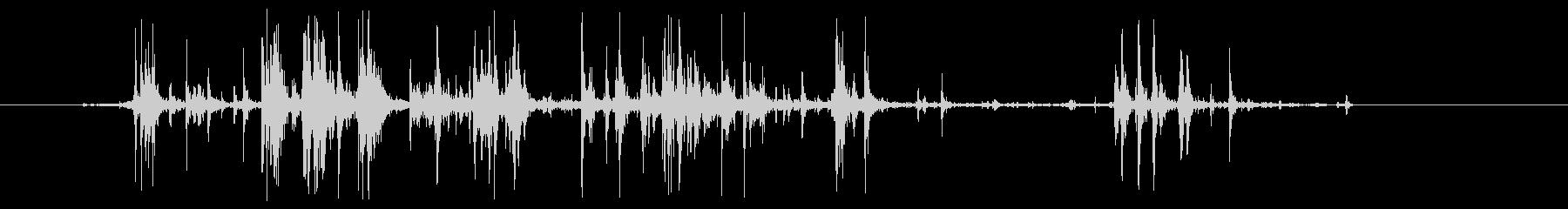 グシャリ系(卵の殻を握る音)の未再生の波形