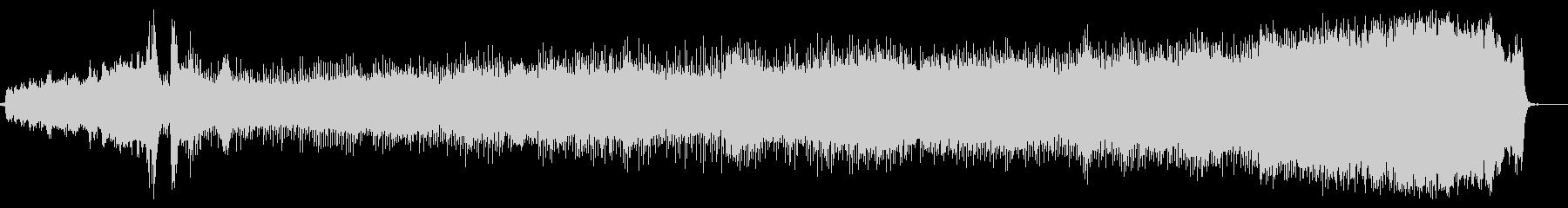 軽快なリズムのオーケストラ風の曲です。の未再生の波形