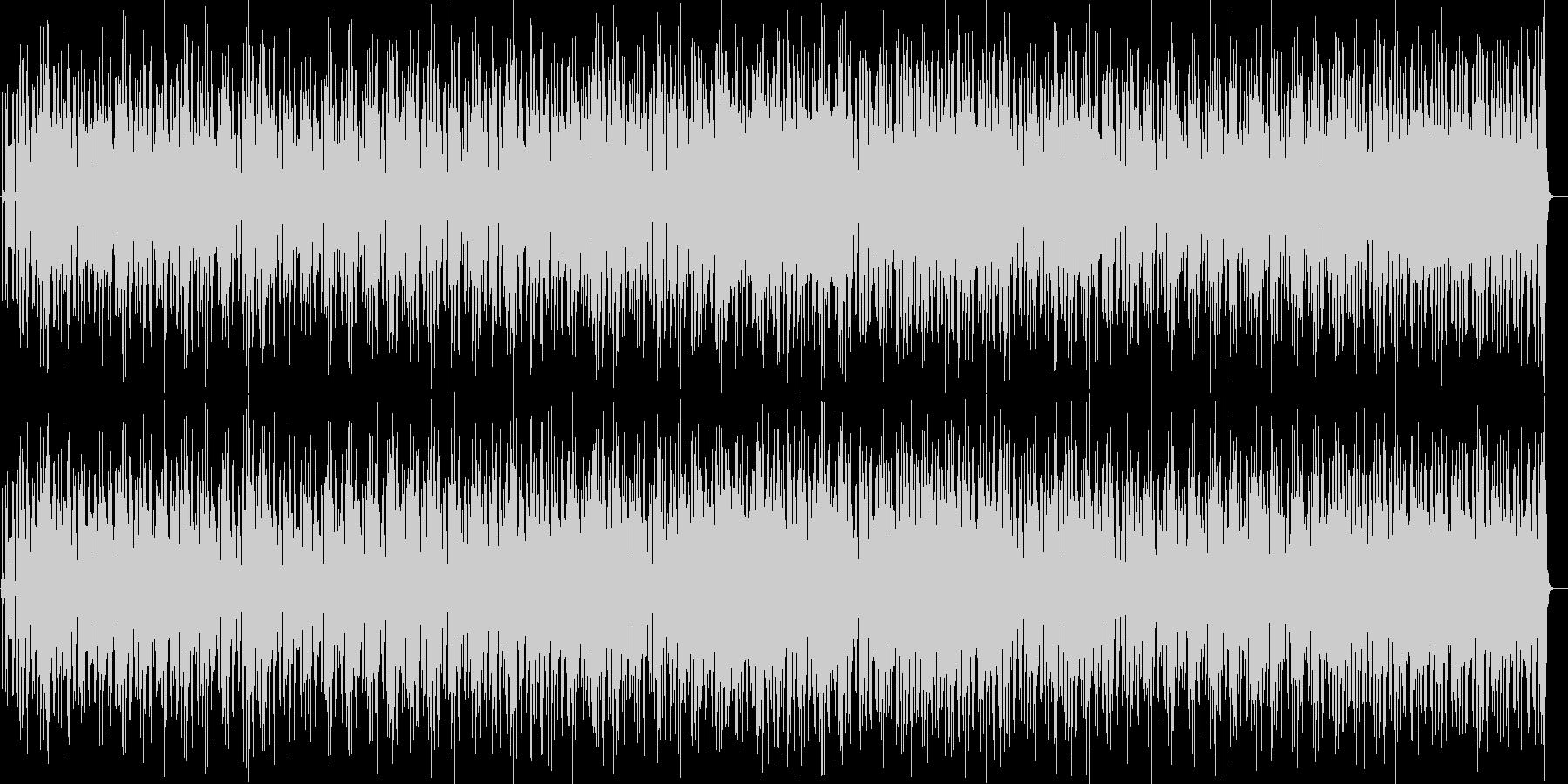 70s電化マイルス風ジャズファンクロックの未再生の波形