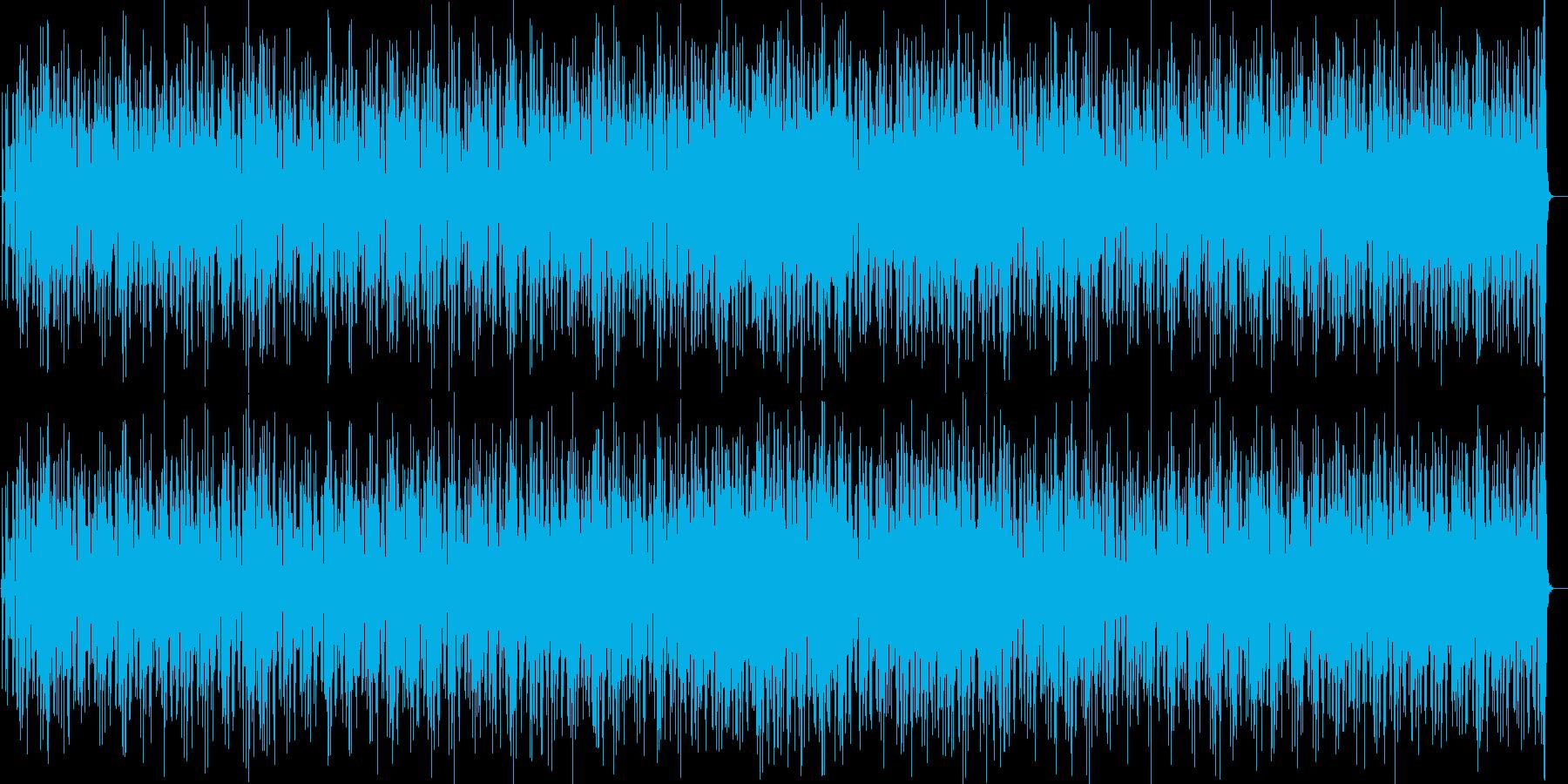 70s電化マイルス風ジャズファンクロックの再生済みの波形