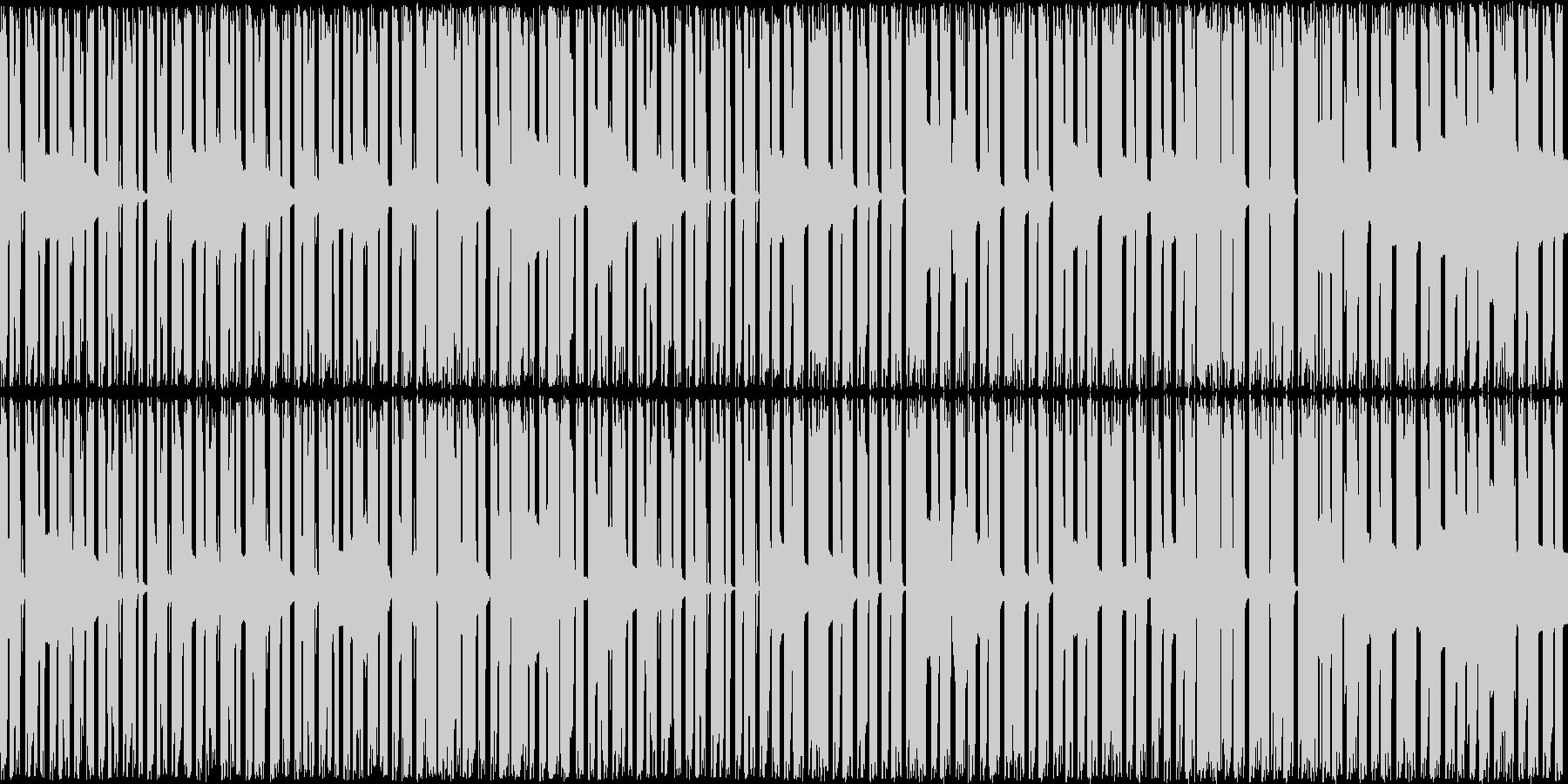 ベースが主体の曲ですの未再生の波形