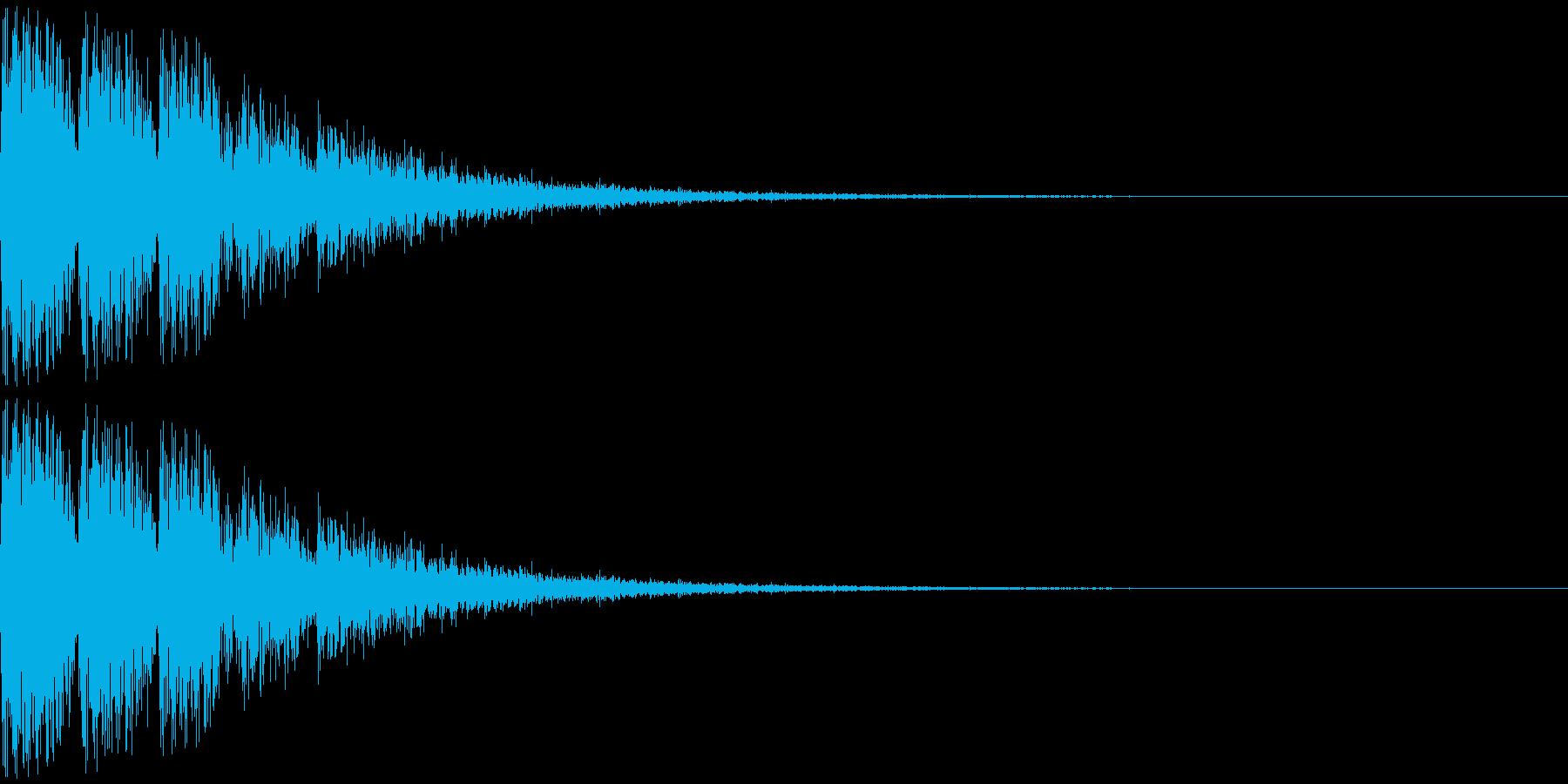トゥワントゥワン・・・(上がり系)の再生済みの波形