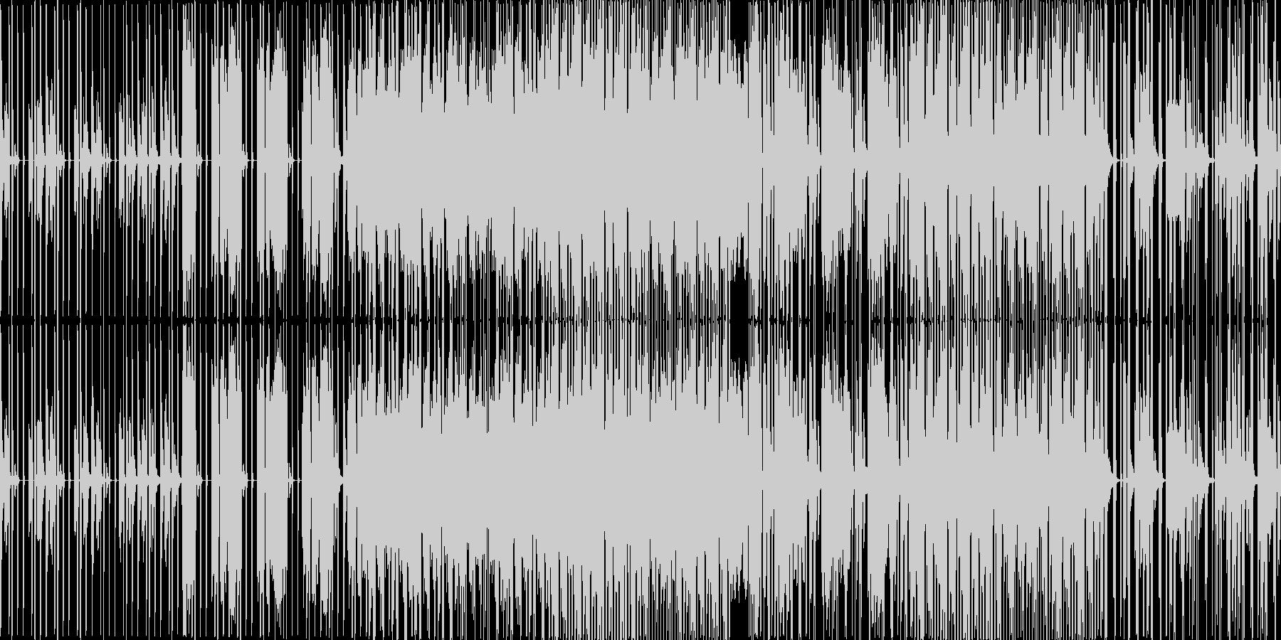 歌ネタですの未再生の波形