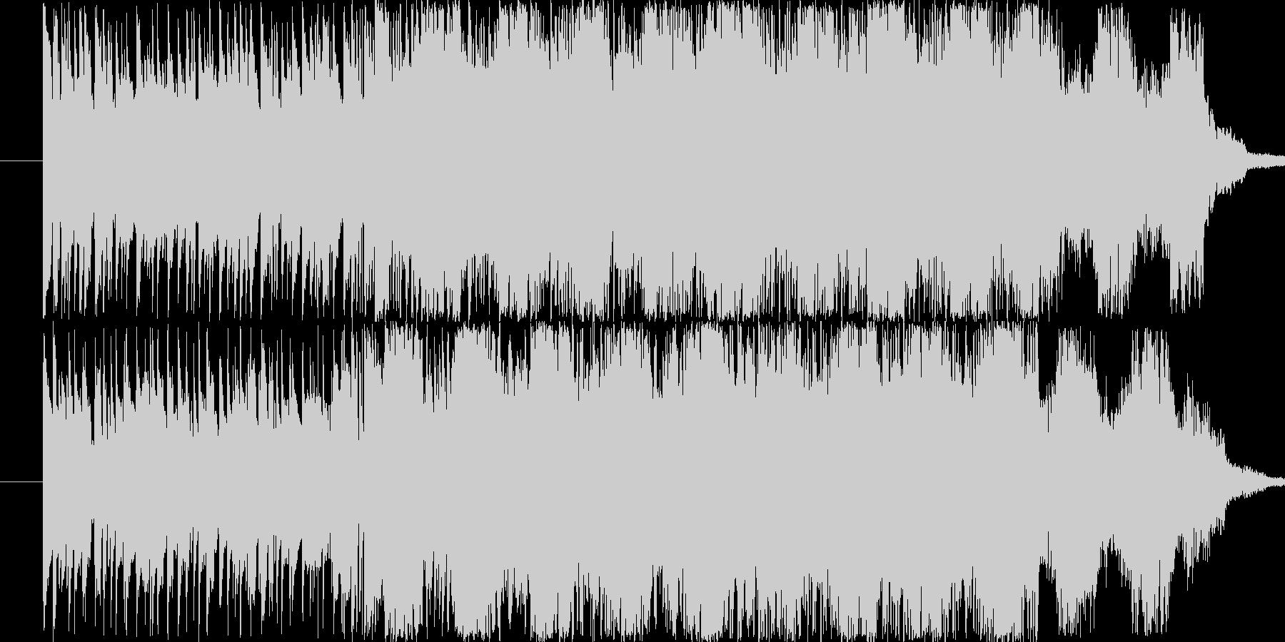 爽やかなサウンドに仕上がりました。の未再生の波形