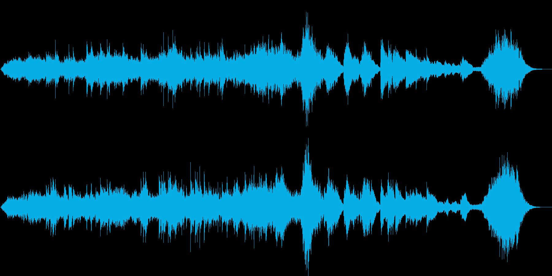 春/小編成オーケストラ BGMの再生済みの波形