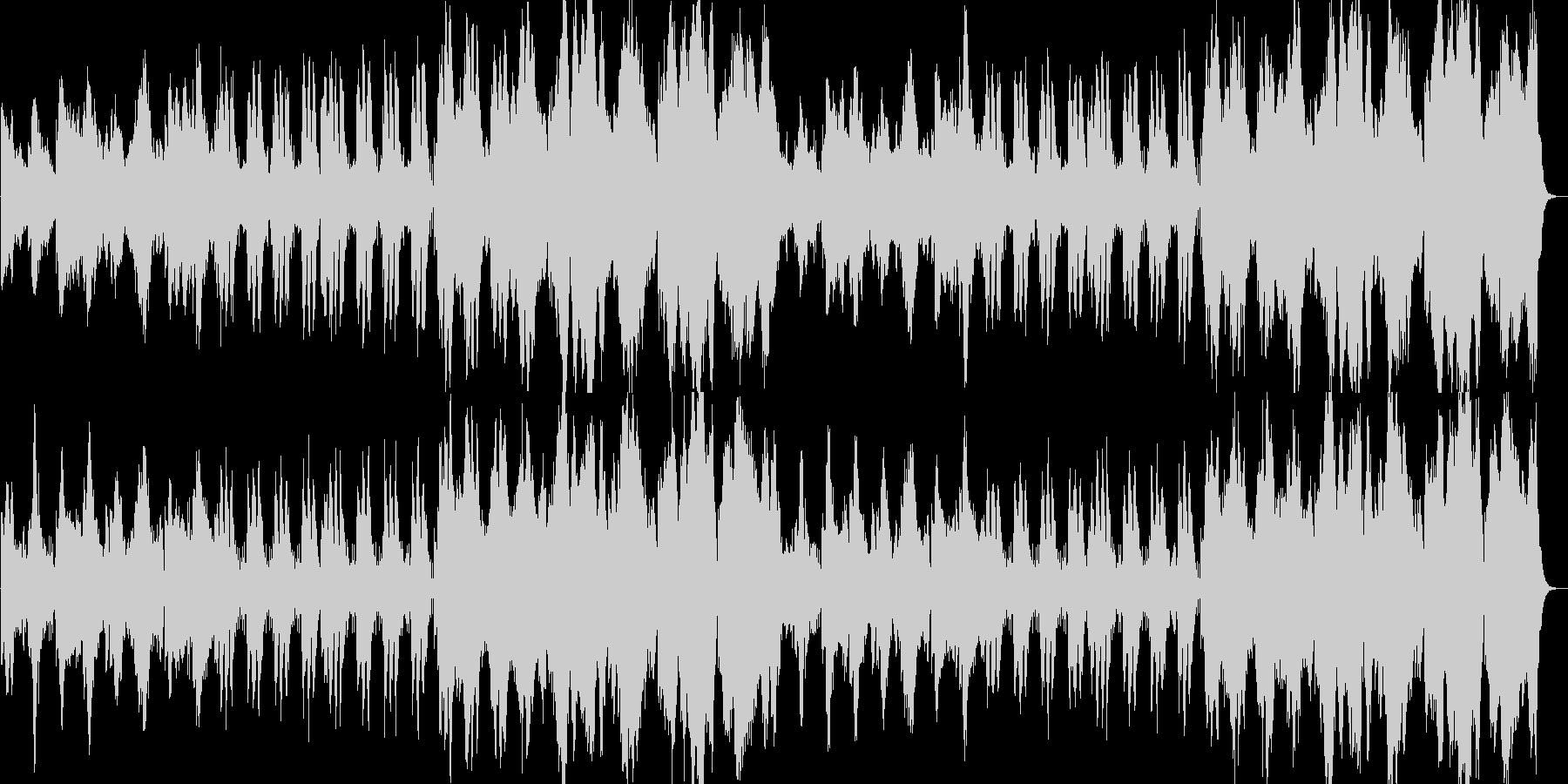 RPG_暗い威圧的なオーケストラの未再生の波形