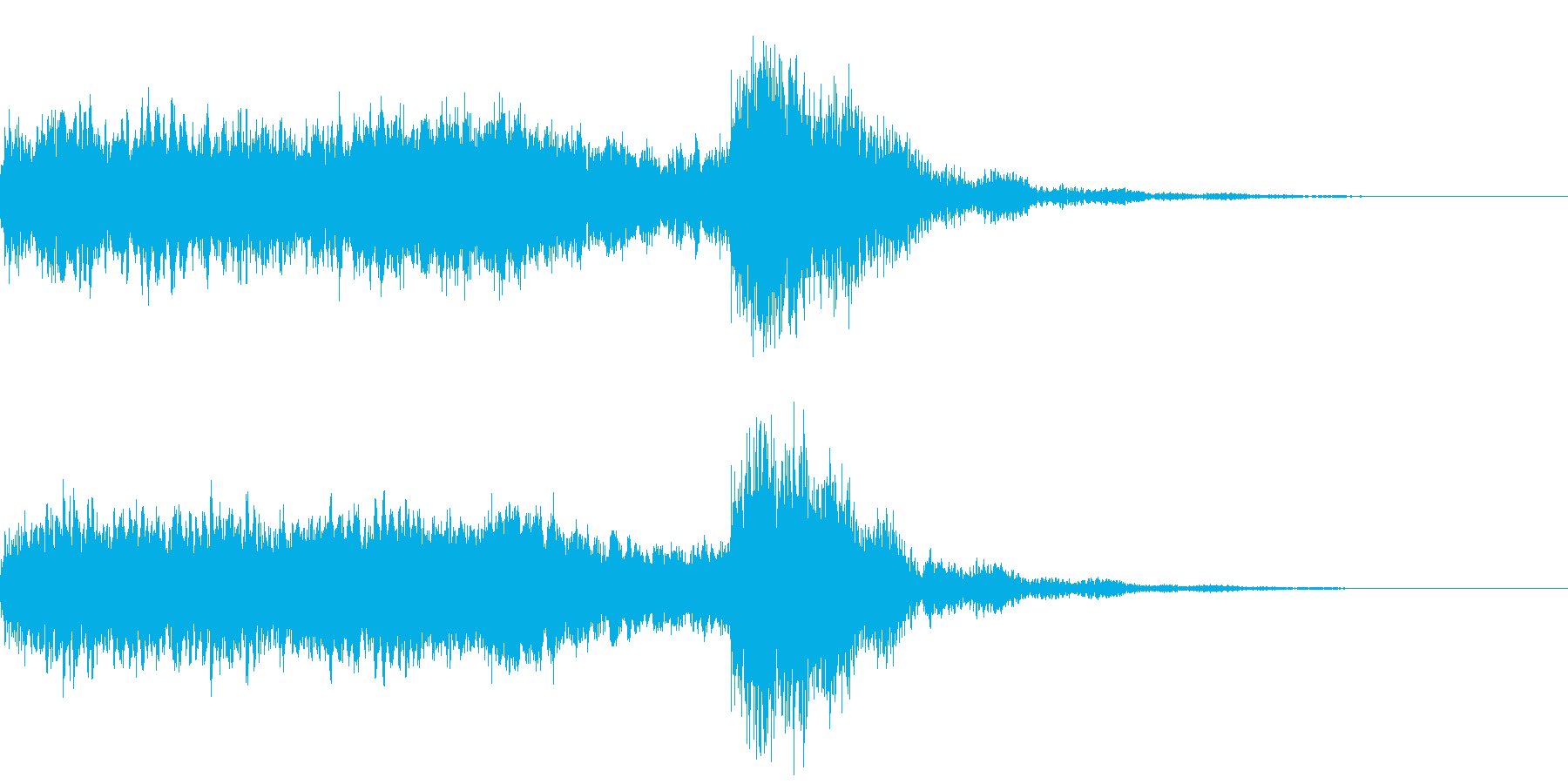 神社 結婚式の笛(笙)/和風演出に!01の再生済みの波形