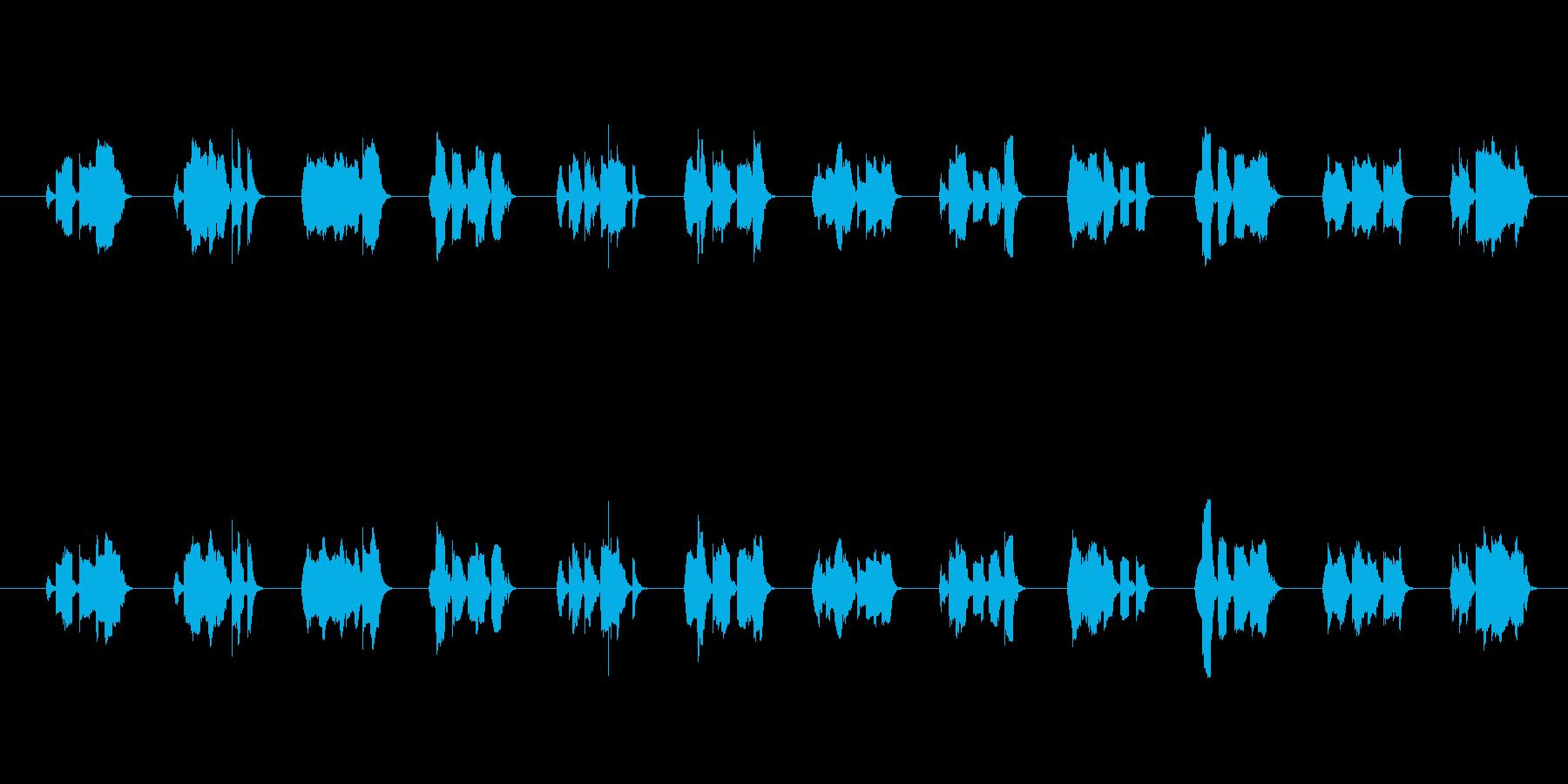 ロボット系ピコピコ音。の再生済みの波形