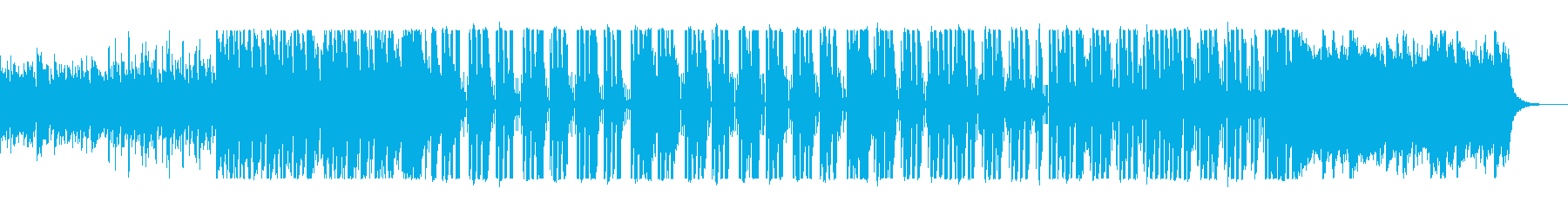 疾走感と近未来感のシンセポップサウンドの再生済みの波形