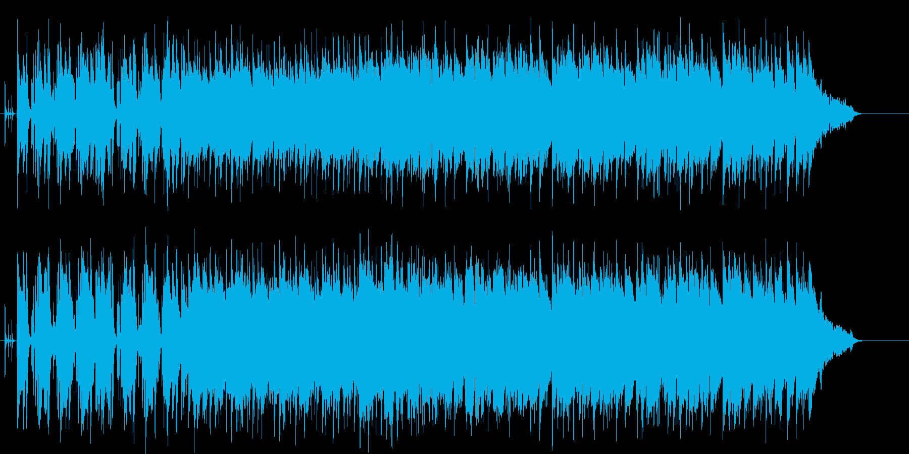 おだやかでふくよかな響きのポップの再生済みの波形