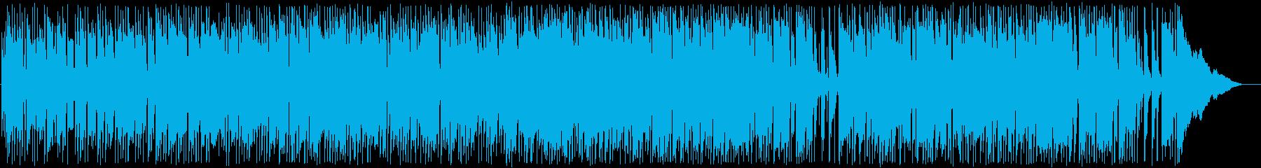 ギターやシンセを使ったおしゃれナンバーの再生済みの波形
