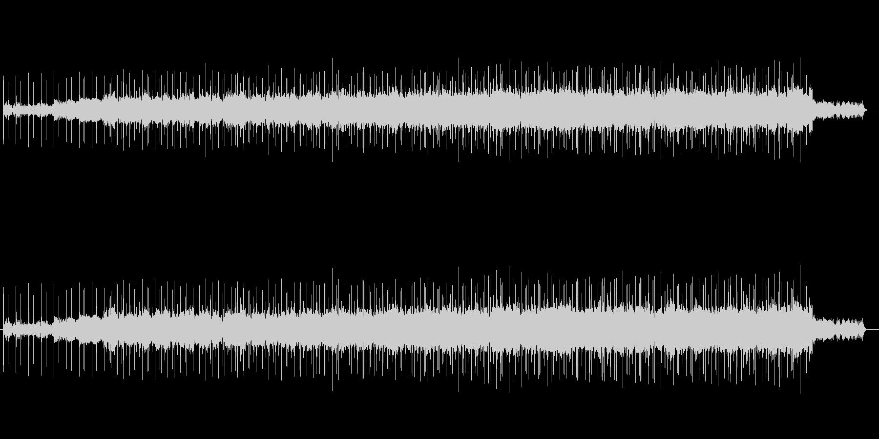 印象的なマイナー調バラードの未再生の波形