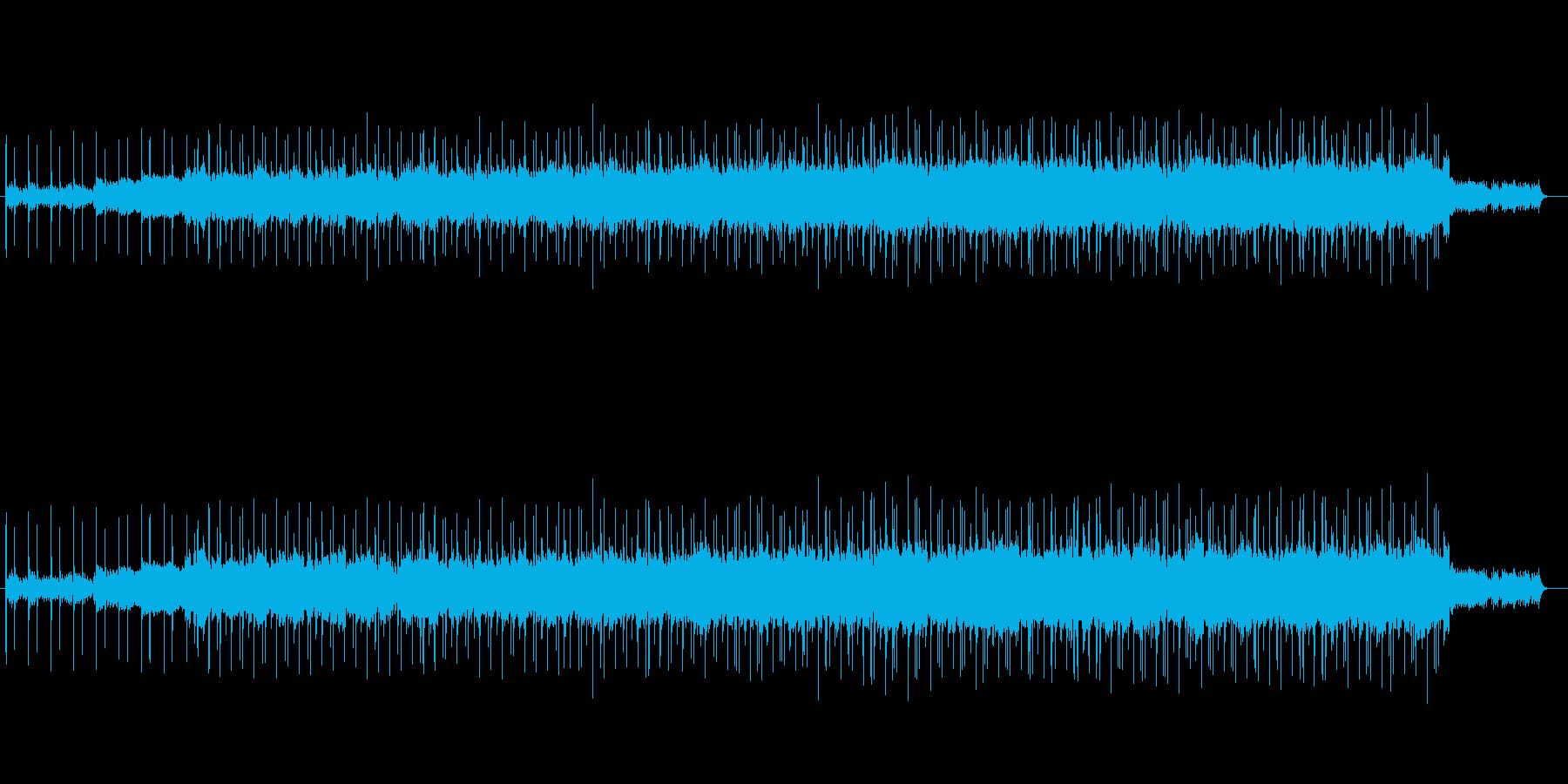 印象的なマイナー調バラードの再生済みの波形