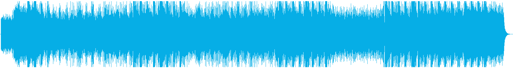 地球一周 癒しの音楽の再生済みの波形