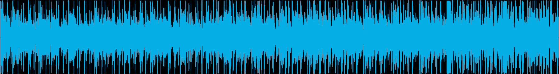 ノリノリのファンク (ループ可)の再生済みの波形