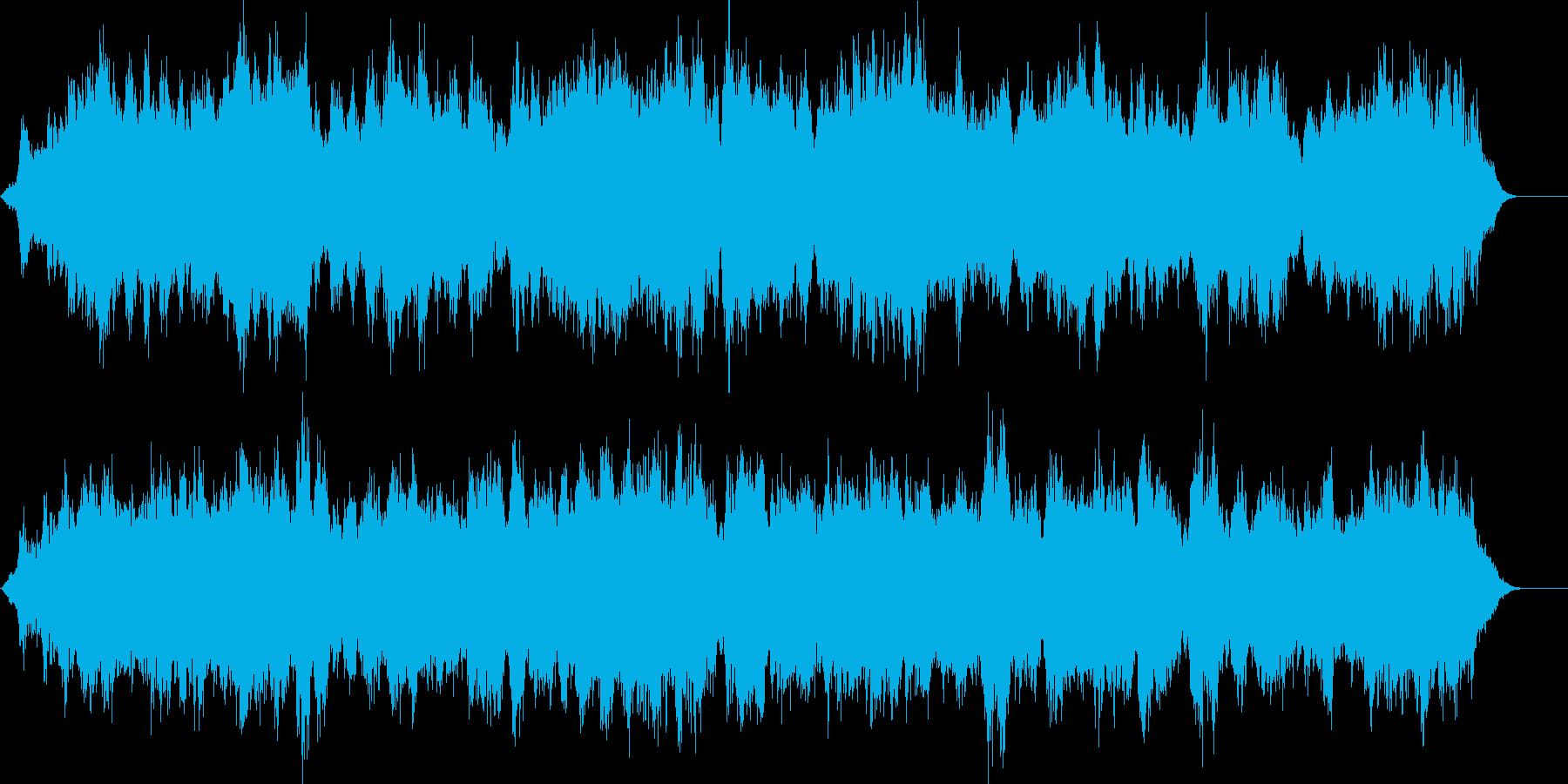浮遊するギター・インストの再生済みの波形