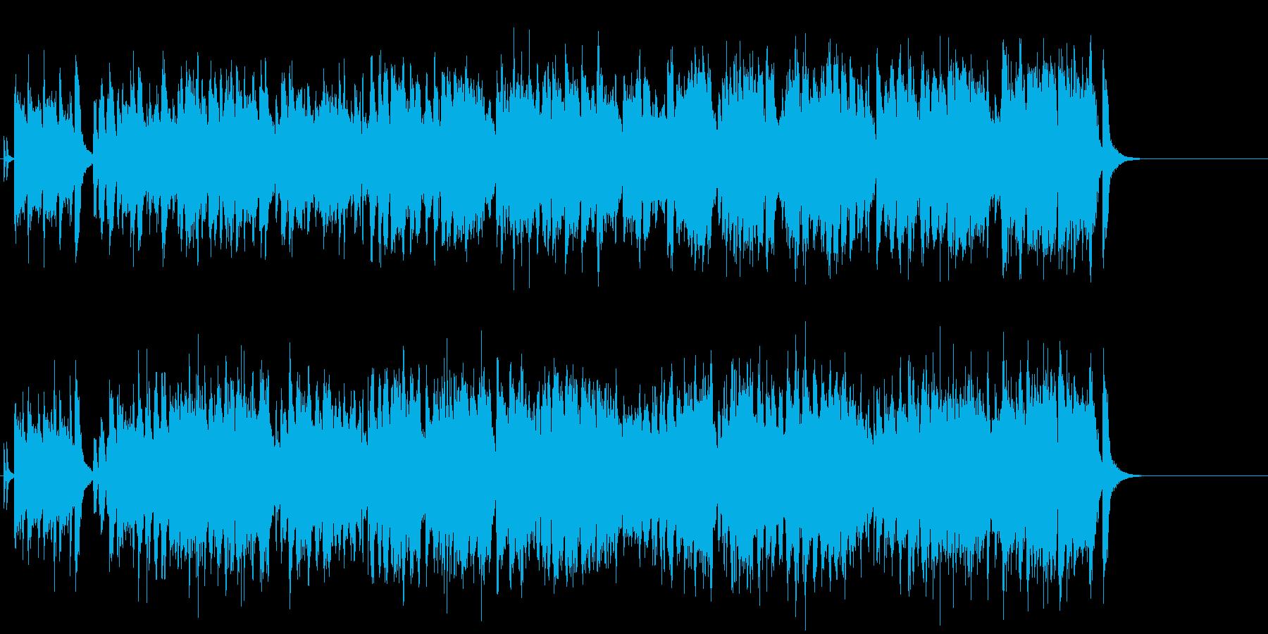 ジャジーなイージーリスニングオープニングの再生済みの波形