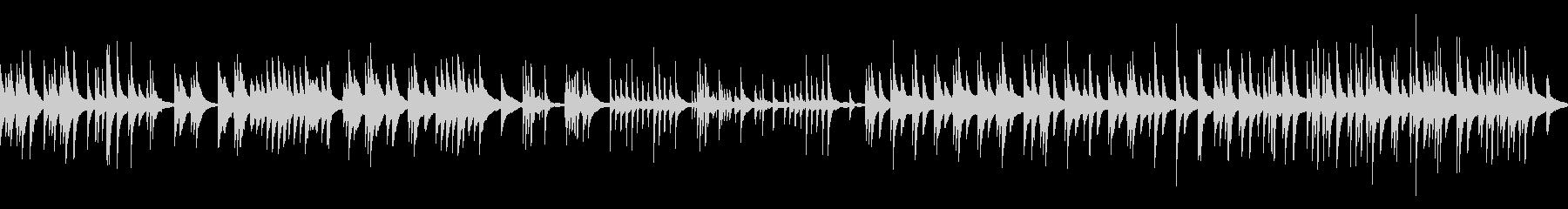 ピアノのみのループ音源。リバーブなしタ…の未再生の波形