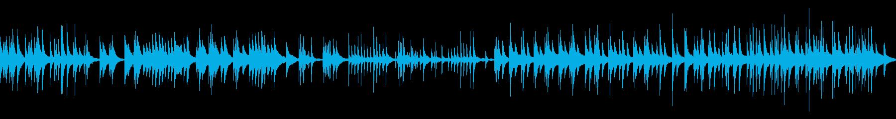 ピアノのみのループ音源。リバーブなしタ…の再生済みの波形