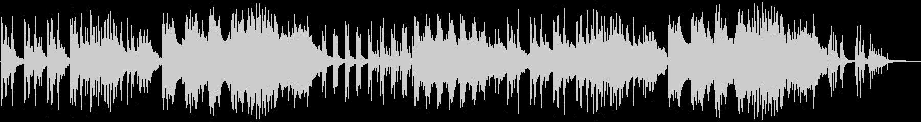 和風バラードBGM。の未再生の波形