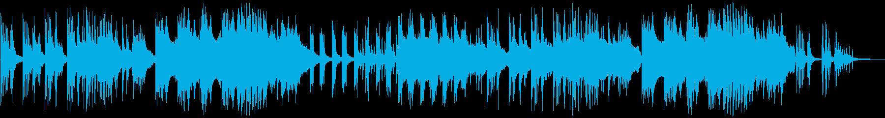 和風バラードBGM。の再生済みの波形