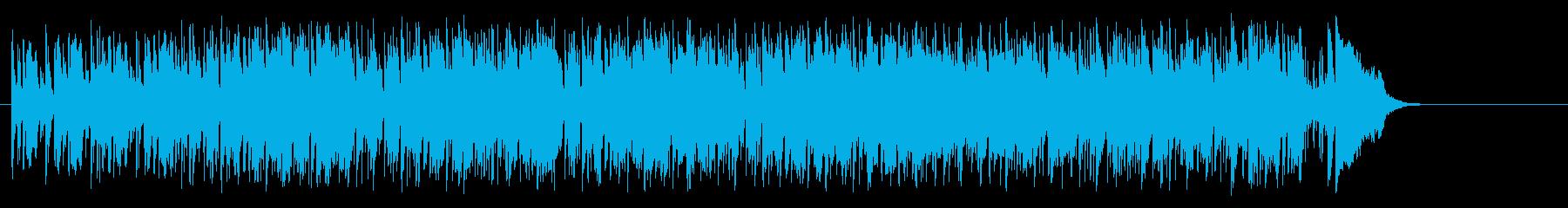 前向きなフュージョン(イントロ~A~…)の再生済みの波形
