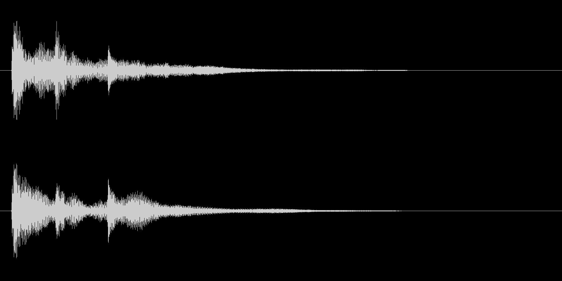 サウンドロゴ(企業ロゴ)_006の未再生の波形