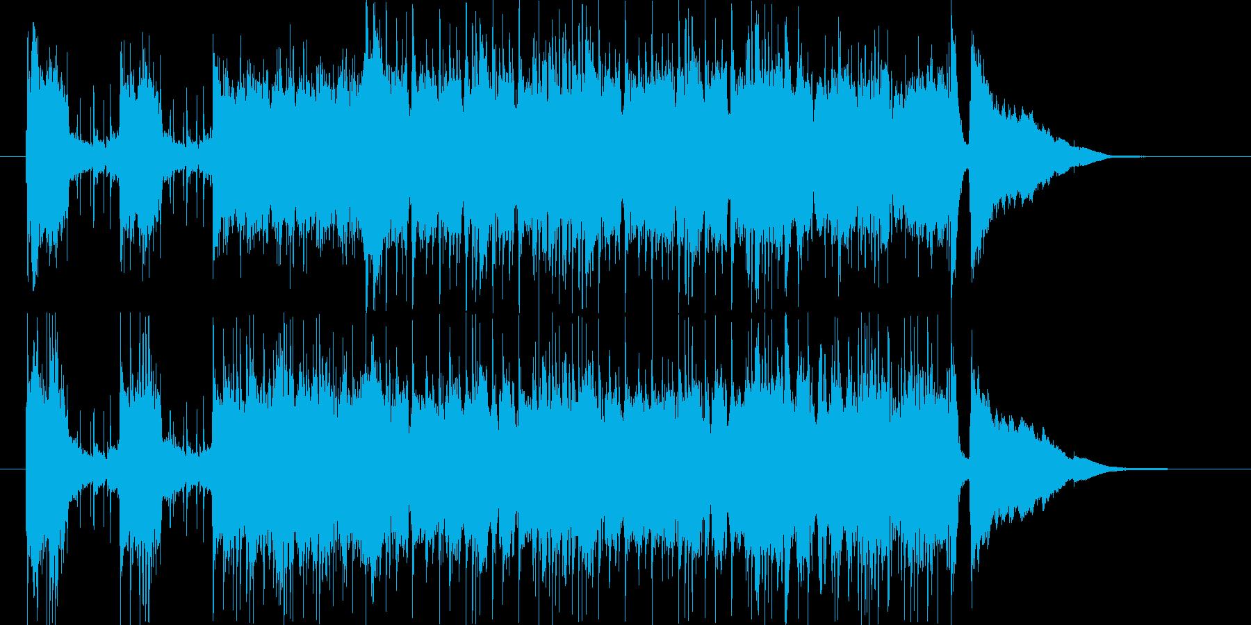 CMイメージです。缶コーヒー無糖をイメ…の再生済みの波形