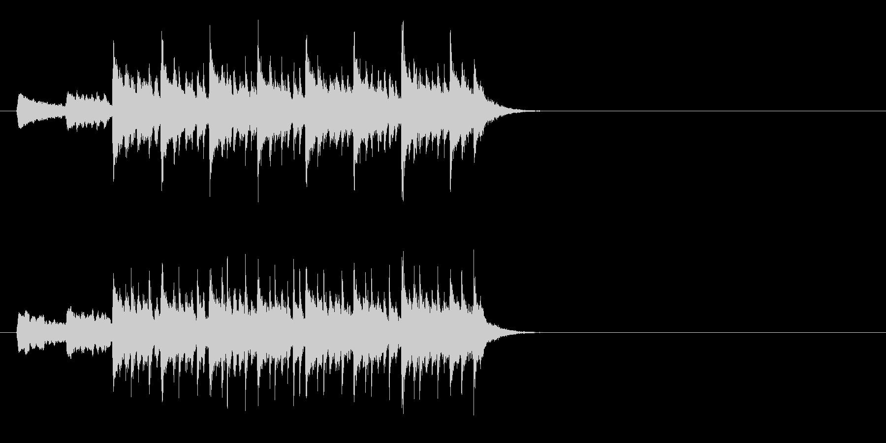 バイオリンが特徴的なラテン系ジングルの未再生の波形