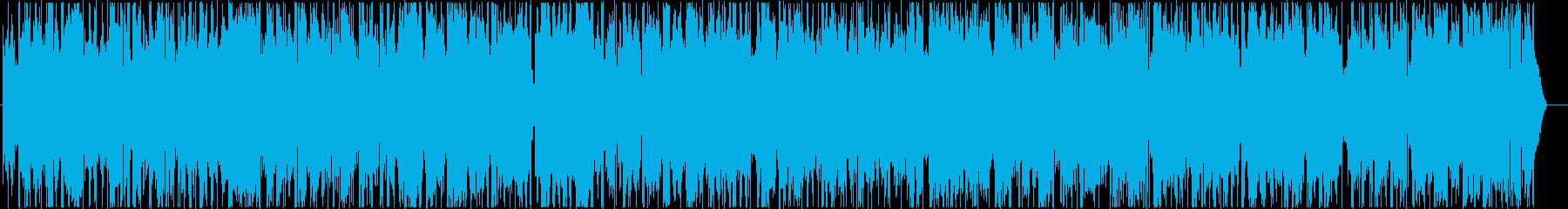 ラウンジで流れる大人のジャズバラードの再生済みの波形