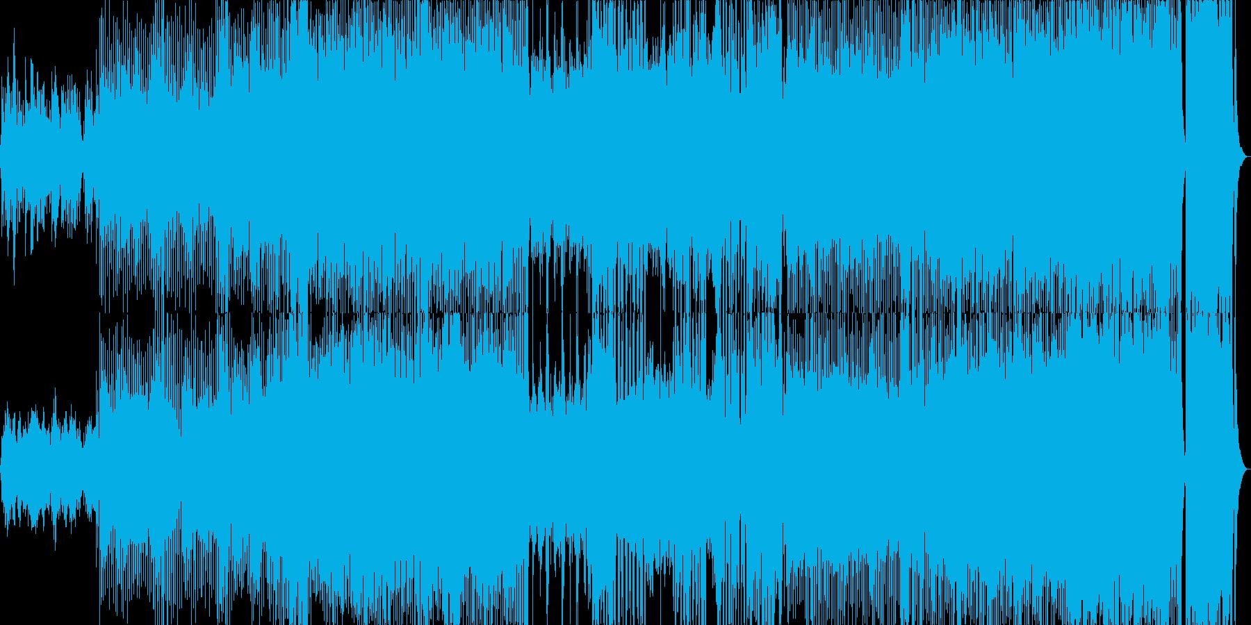 ディズニー風の愉快なファンタジーランド風の再生済みの波形