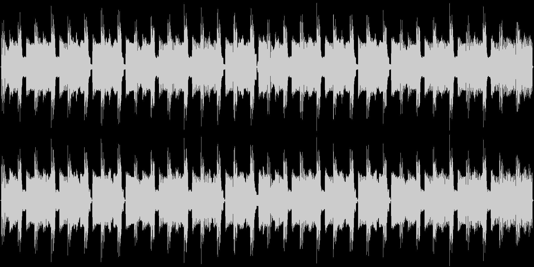 チップチューンの痛快な短いループ4の未再生の波形