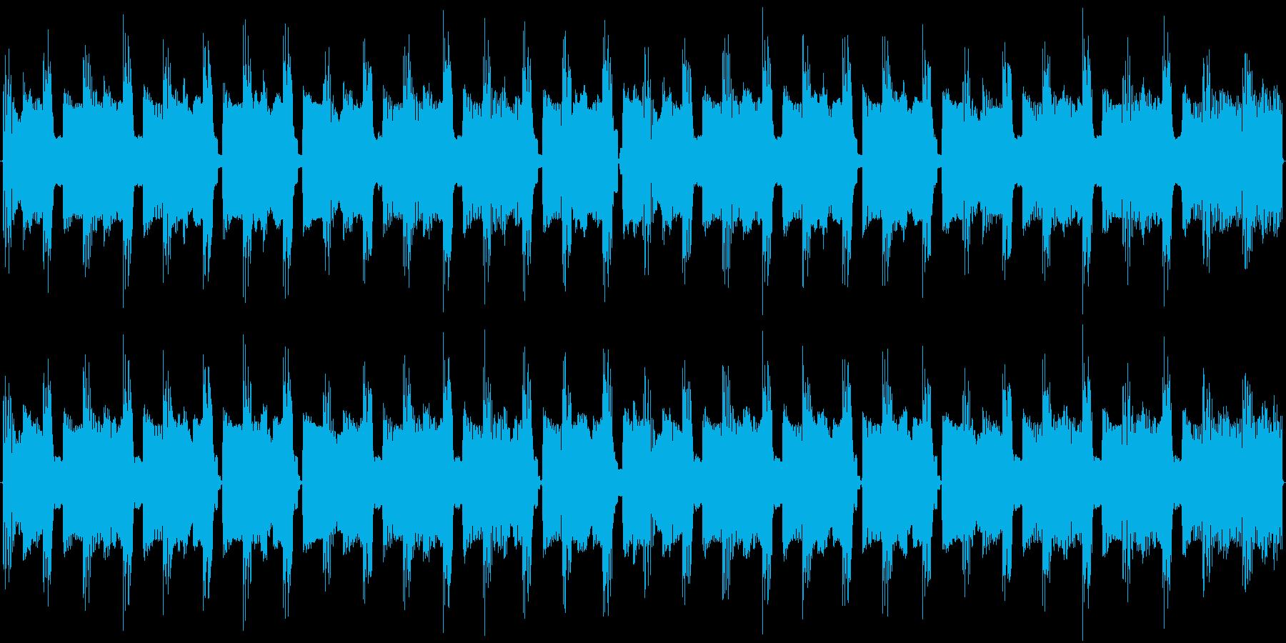 チップチューンの痛快な短いループ4の再生済みの波形