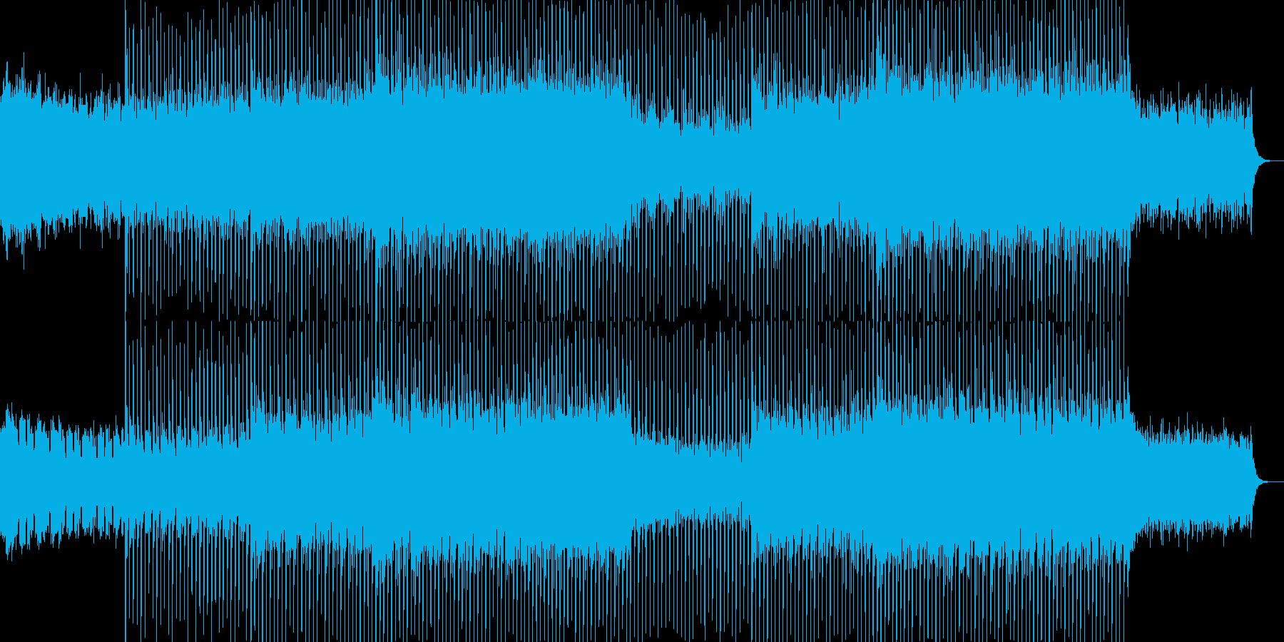 EDMクラブ系ダンスミュージック-24の再生済みの波形
